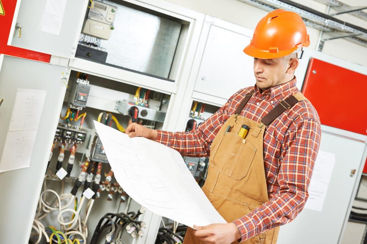 Voorbeeld van elektriciteitskeuring verkoop woning